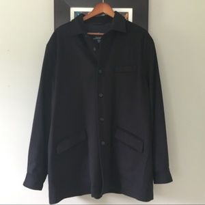 Faconnable wool shirt coat